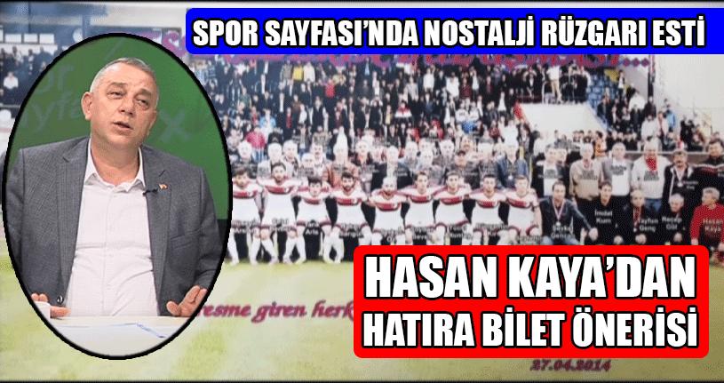 ASKF Başkanı Bıyık Spor Sayfası'nın Konuğu Oldu