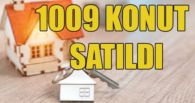 Düzce'de iki ayda bin 9 konut satıldı