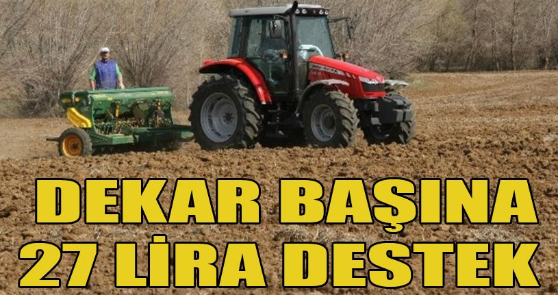 Çiftçilere mazot gübre desteği sürüyor