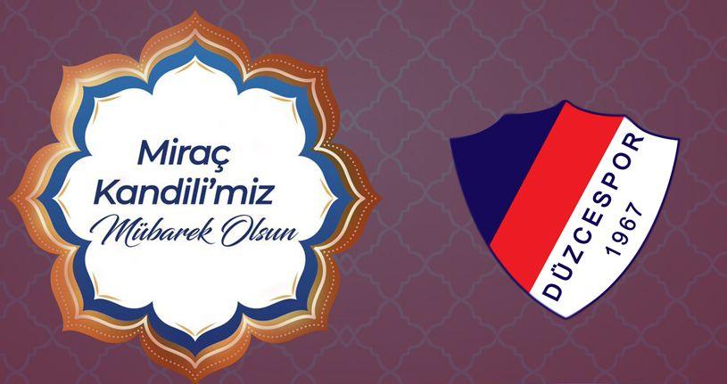 Başkan Kapoğlu'ndan Miraç Kandili Mesajı