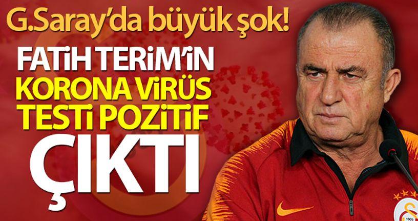 Fatih Terim: 'Bugün yapılan test sonuçlarına göre korona virüs sonucum pozitif çıkmıştır'