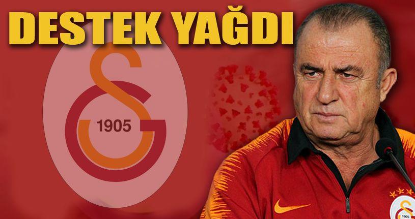 Futbol dünyasından Fatih Terim'e destek yağdı!