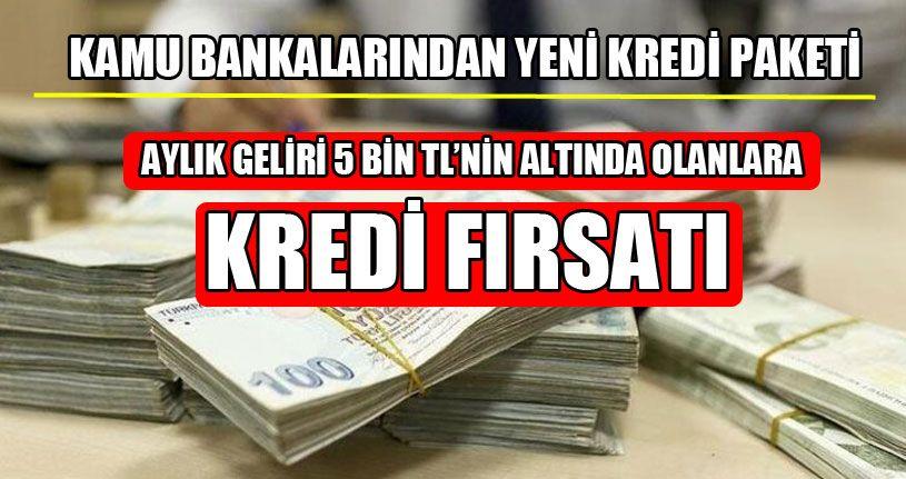 Bakan Albayrak Açıkladı: Kamu Bankalarından Yeni Kredi Paketi