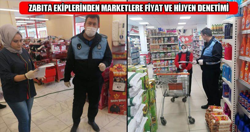 Marketlerdeki Ürünlerin Fiyatları Denetlendi