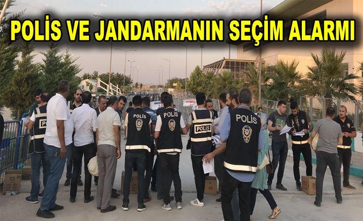 Seçimlerde bin 361 polis ve jandarma görev yapacak