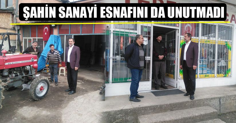 Başkan Şahin'den Sosyal Mesafeli Ziyaret