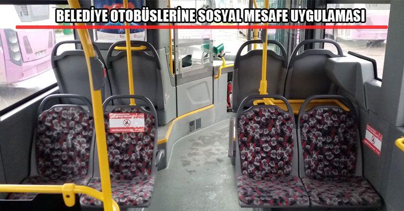 Genelge Sonrası Yolcu Otobüslerinin İçi Düzenlendi