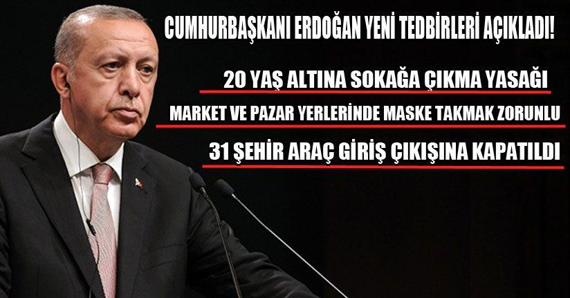Cumhurbaşkanı Erdoğan Önemli Açıklamalarda Bulundu