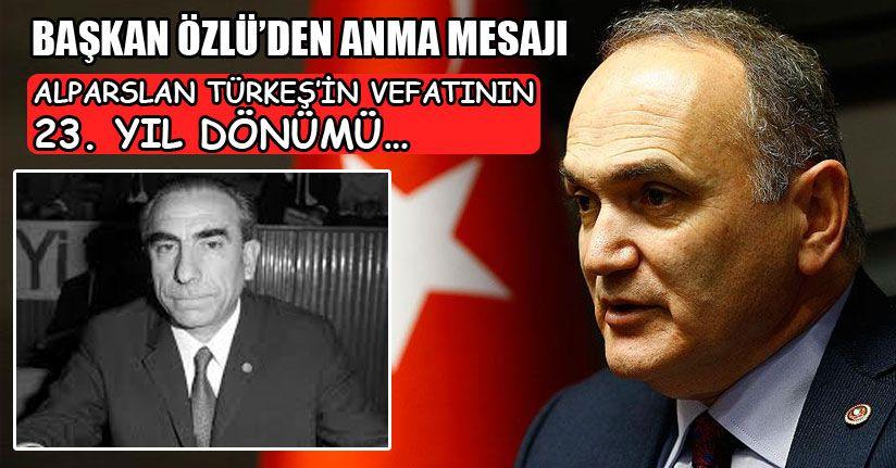 Alparslan Türkeş'in Vefatının 23. Yıl Dönümü…