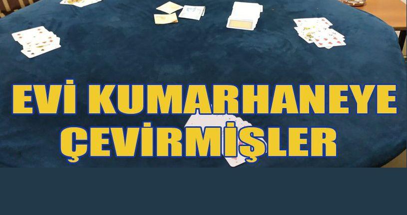 Düzce'de eve kumar baskını: 10 gözaltı