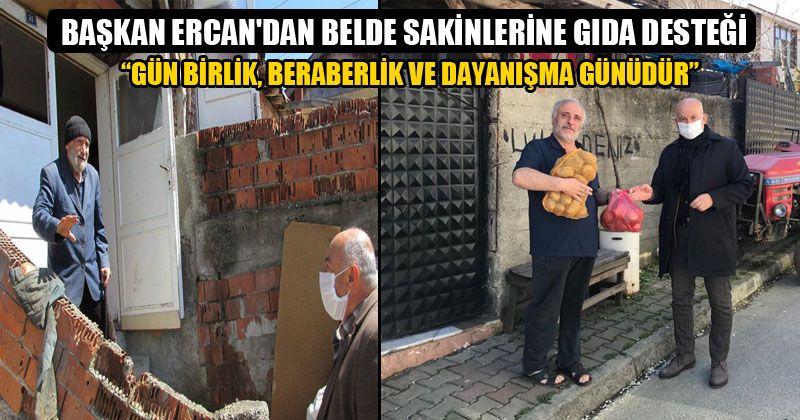 Başkan Ercan Kapı Kapı Gezdi