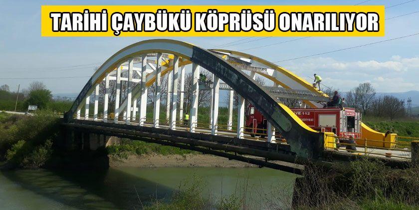 Tarihi Köprüde Bakım Onarım Çalışması Başlatıldı