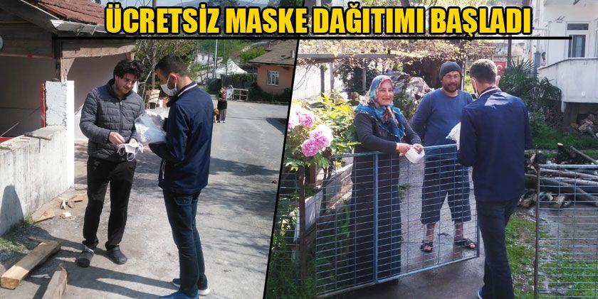 Başkan Şahin'in Talimatıyla Maske Dağıtımı Başladı