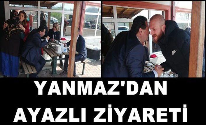 Başkan Yanmaz'dan Ayazlı Ziyareti