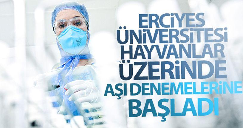 ERÜ'de hayvanlar üzerinde Covid-19 aşısı denemelerine başlandı