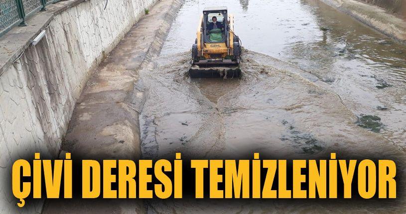 Karadeniz'e dökülen Çivi deresi güzergahı temizlendi