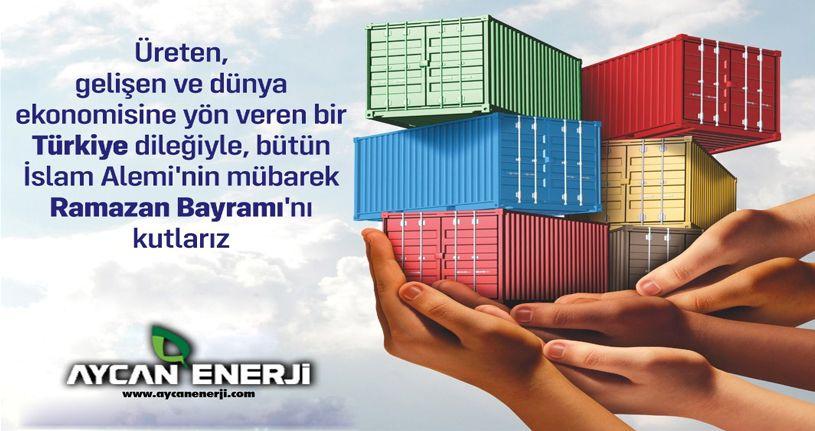 Aycan Enerji'den Ramazan Bayramı Mesajı