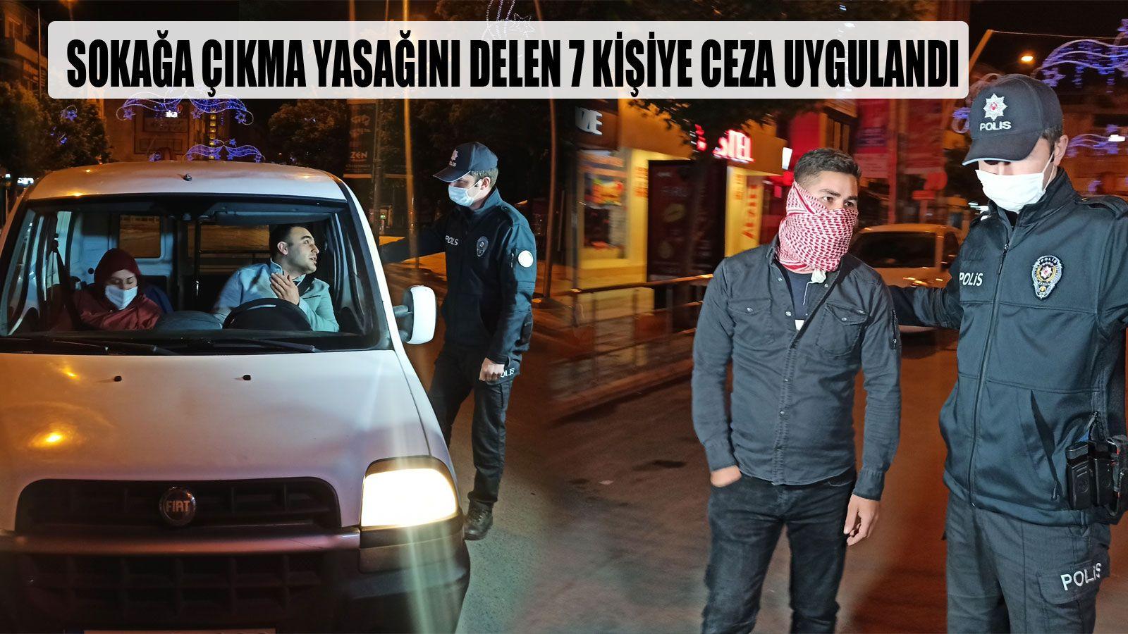Yasağa Uymayanlar, Polisten Kaçamadı