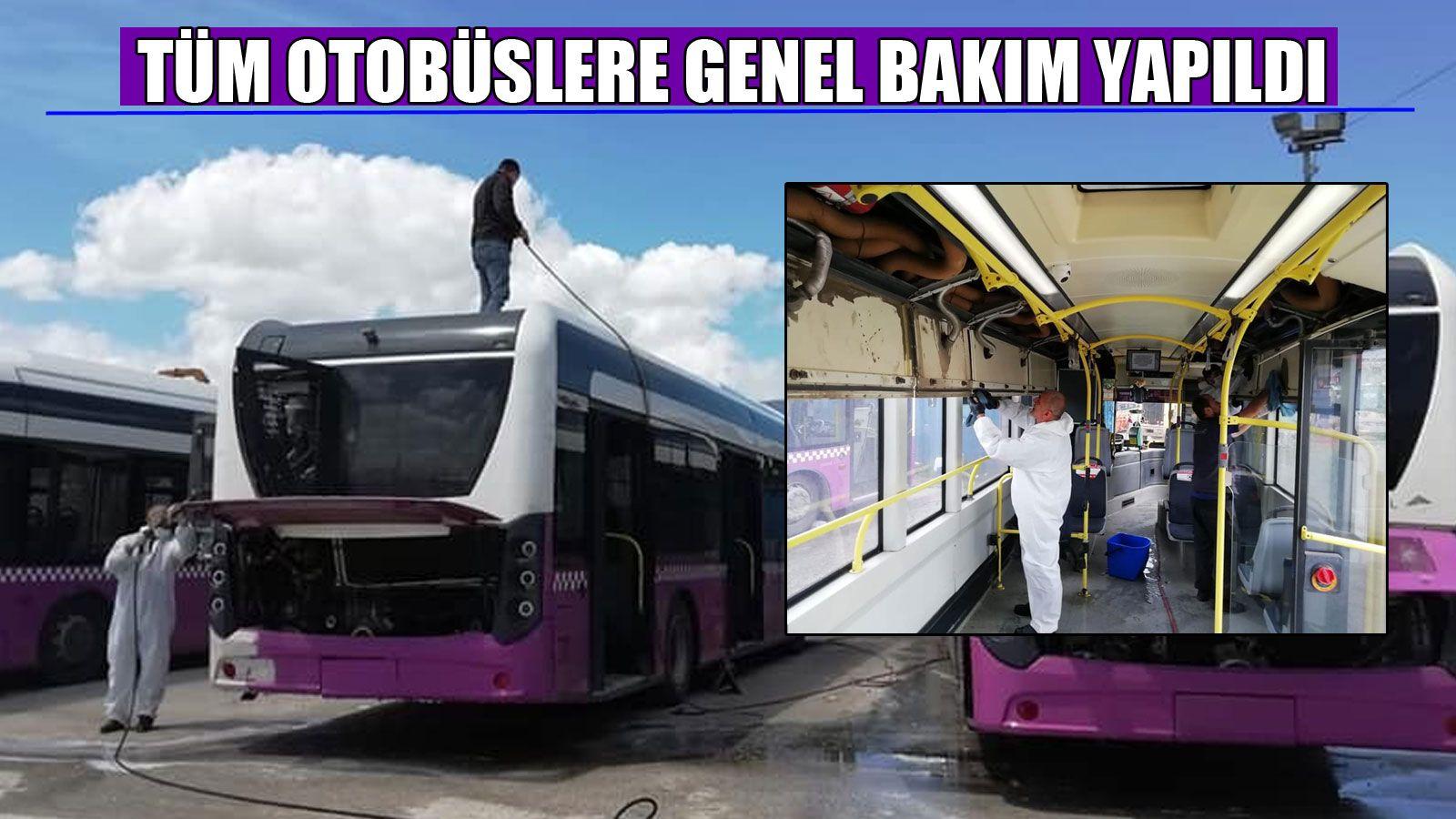 Halk Otobüsleri Kısıtlama Sonrasına Hazırlandı