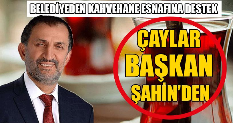 Belediyeden Kahvehane Esnafına Destek