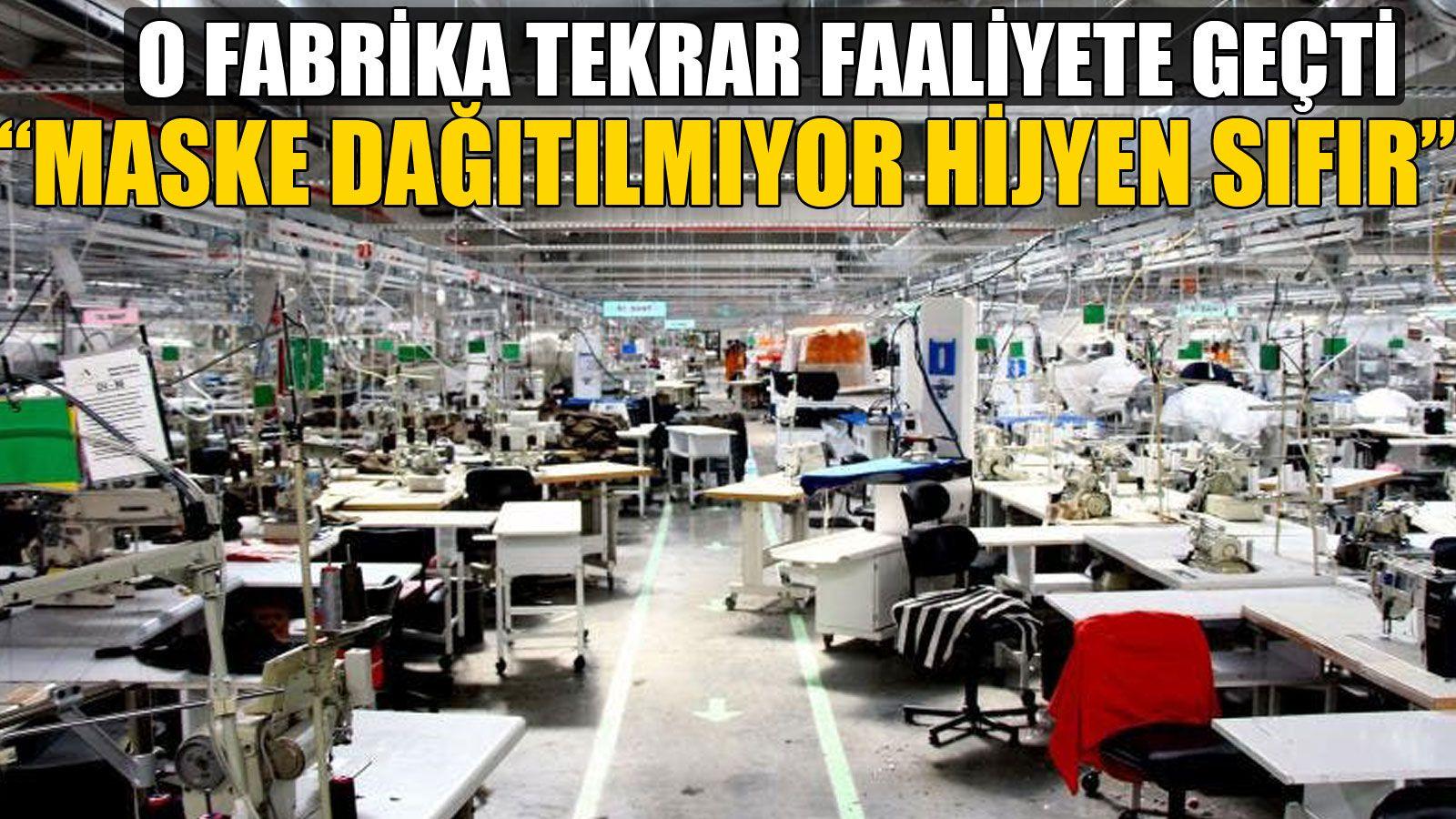 Fabrika İşçileri Tedirgin!