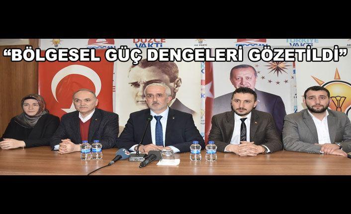 AK Parti Listeleri Yapılan Toplantı İle Tanıtıldı