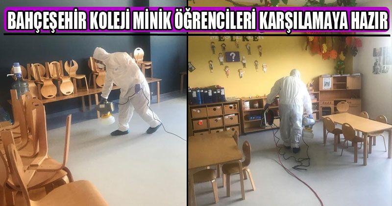 Bahçeşehir Koleji Minik Öğrencileri Karşılamaya Hazır