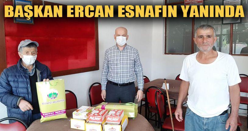 Başkan Ercan'dan Kahvehane Esnafına Destek