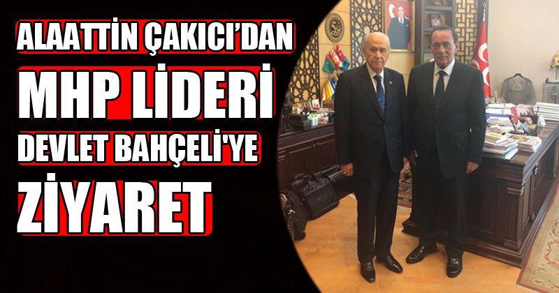 Alaattin Çakıcı'dan MHP Lideri Devlet Bahçeli'ye Ziyaret