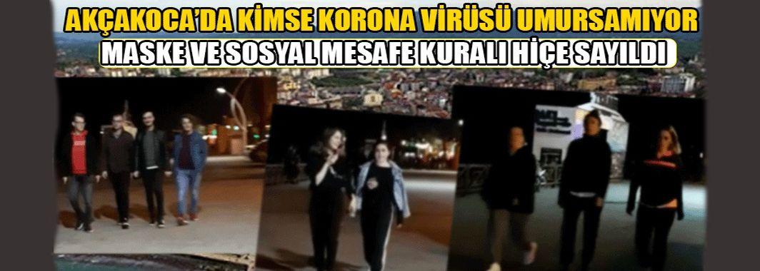Akçakoca'da Virüse Karşı Önlem Alınıyor Mu?