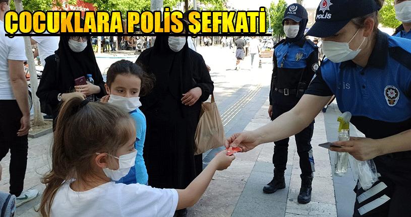 Toplum Destekli Polislerden Çocuklara Özel İlgi