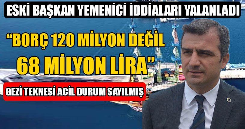 Gezi Teknesi Acil Durum Sayılmış!