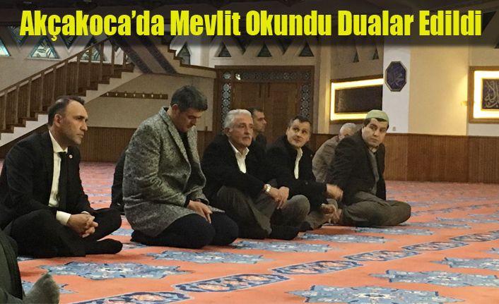 Başbuğ Türkeş için Mevlid-i Şerif