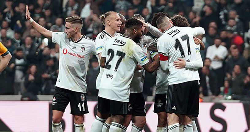 Süper Lig'de sahne Beşiktaş'ın