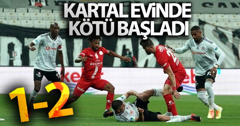Beşiktaş 1  -  Antalyaspor 2