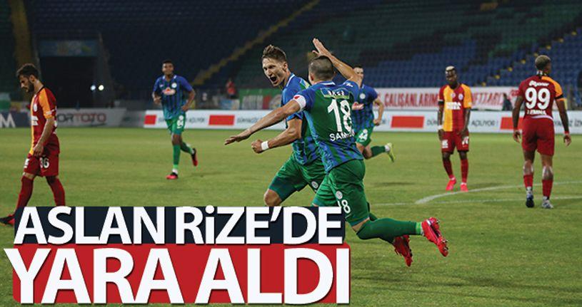 Rizespor 2 - 0 Galatasaray
