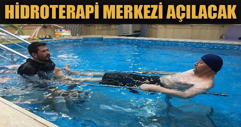 Hidroterapi Merkezi Kurulacak