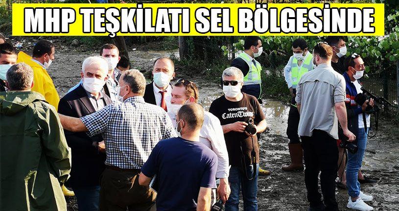 MHP İl Başkanı Caboğlu Selzedeleri Dinledi