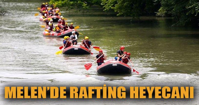 Melen'de Rafting Heyecanı