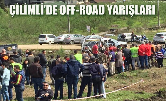 Off-Roadçıların çamurla mücadelesi