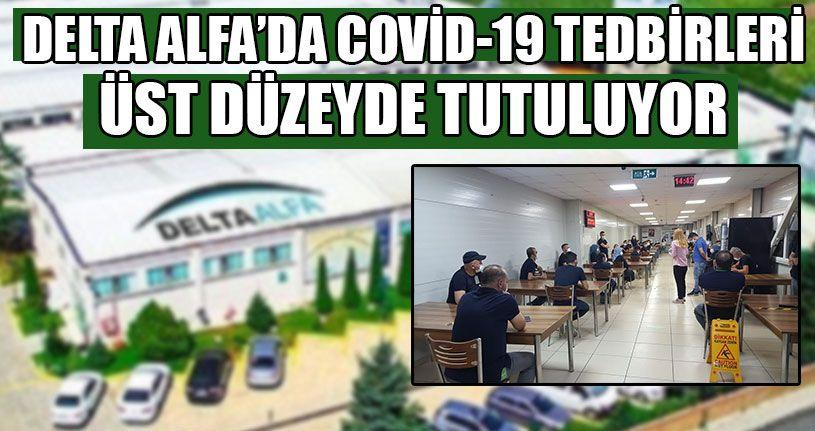Delta Alfa'da Covid-19 Tedbirleri Üst Düzeyde Tutuluyor