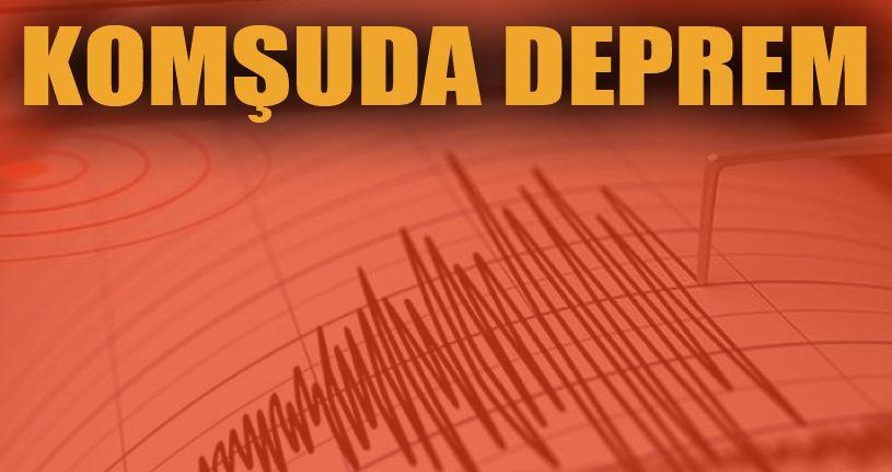 Sakarya'da deprem