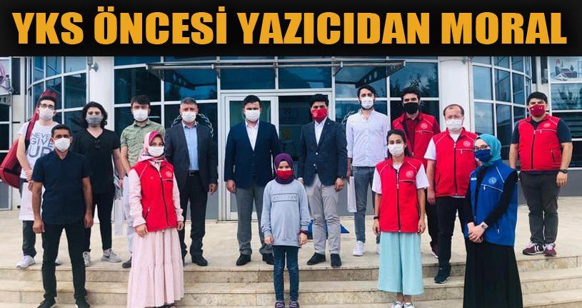 Gençlik Hizmetleri Genel Müdürü, YKS'ye hazırlanan gençleri ziyaret etti
