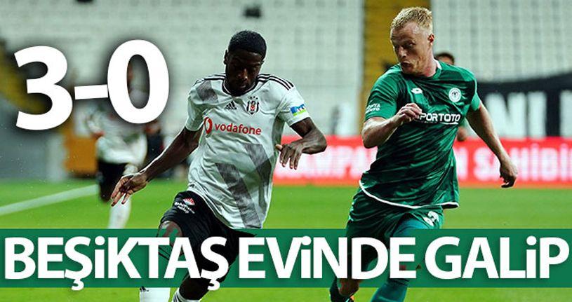 Beşiktaş 3 - 0 Konyaspor