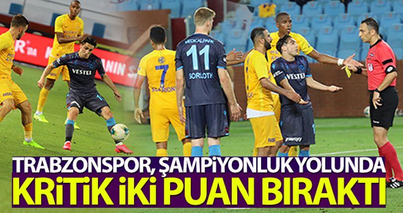 Trabzonspor 1-1 Ankaragücü