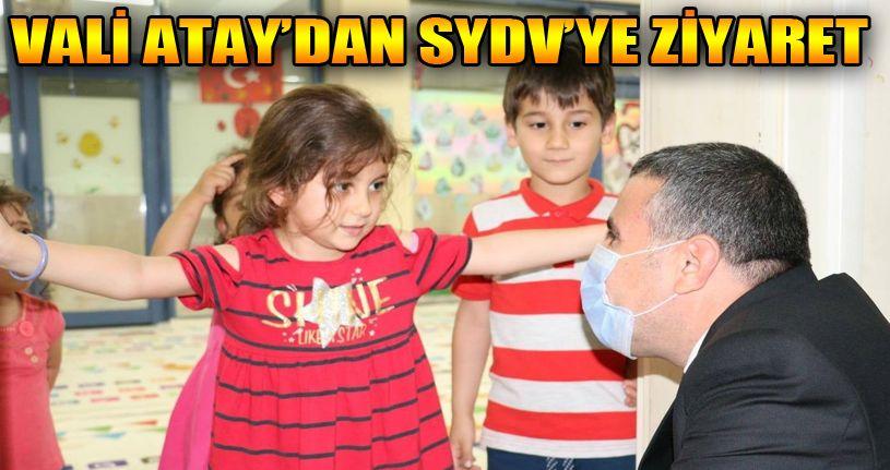 Vali Atay, SYDV'yi ziyaret etti