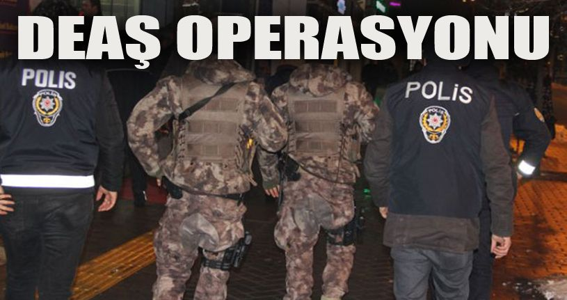 DEAŞ üyelerine şafak operasyonu: 3 gözaltı