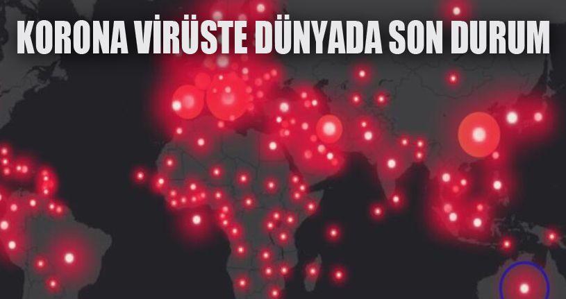 Korona virüsten Ölenlerin Sayısı 500 bini geçti