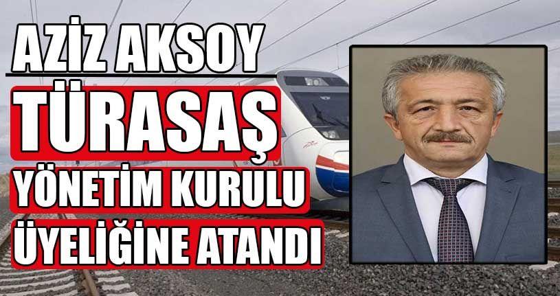 TÜRASAŞ'a Düzceli Aziz Aksoy Atandı