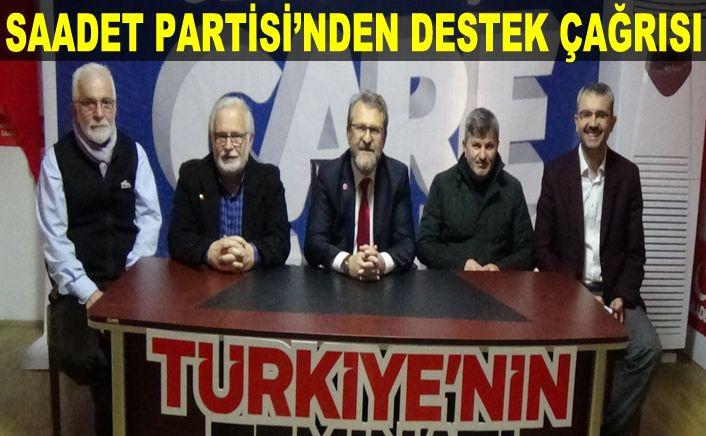 Saadet Partisi Genel merkez için kampanya başlattı